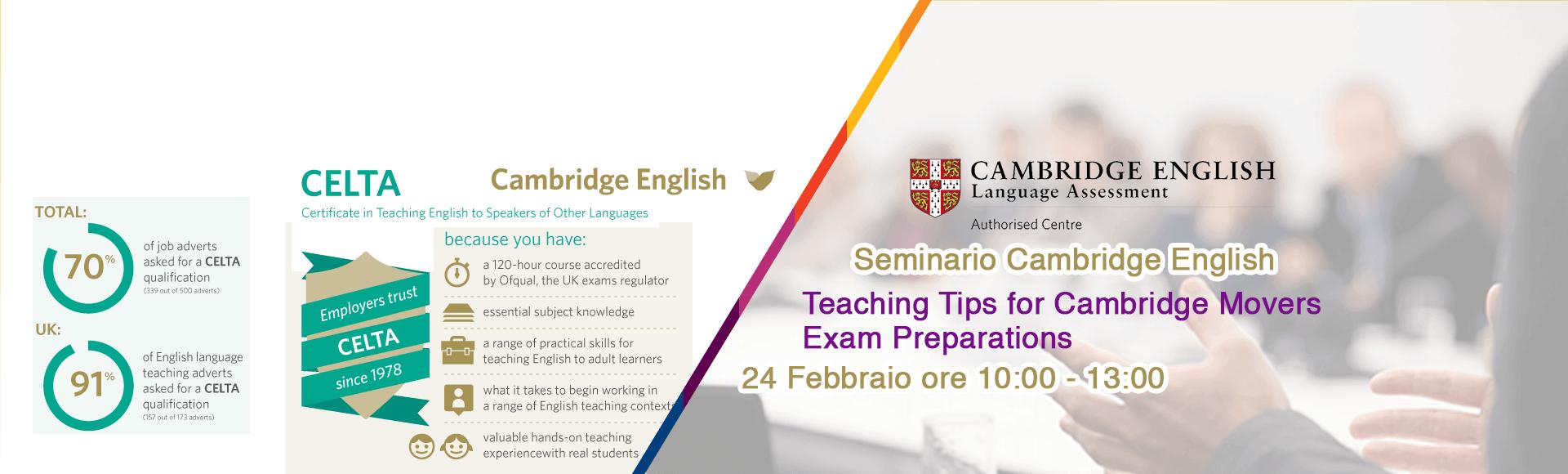 Seminario 24 Febbraio Cambridge Catania