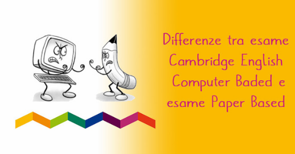 Differenze tra esame computer based e paperbased